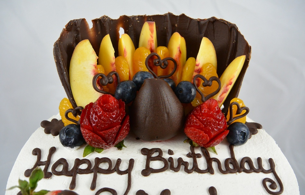 LBC 14S - Chocolate Birthday Fruit Cake - Fruit Top.jpg