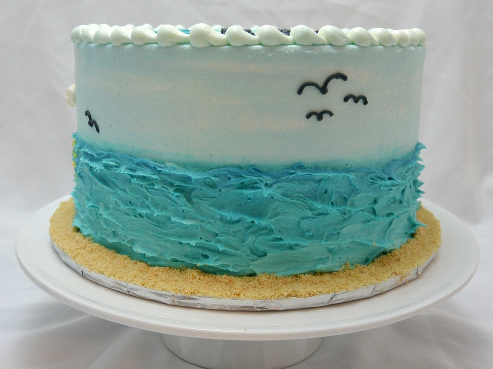 LBC 1432 - Beach Inspirational Birthday Cake - Right.jpg