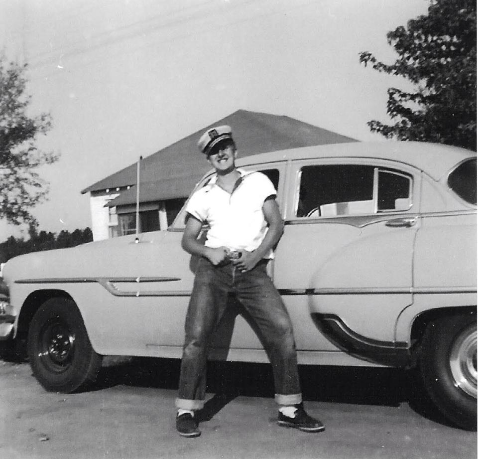 My dad 1950s