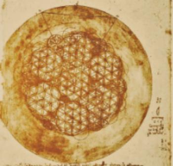 Leonardo DaVinci's Flower of Life