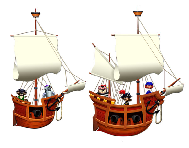 Galleons: Small/Medium