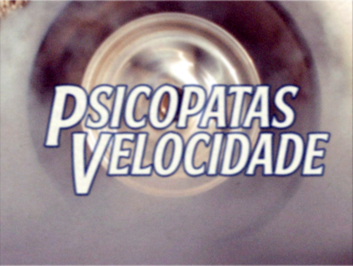 Thing X/Adult Swim: Psicopatas Velocidade Title