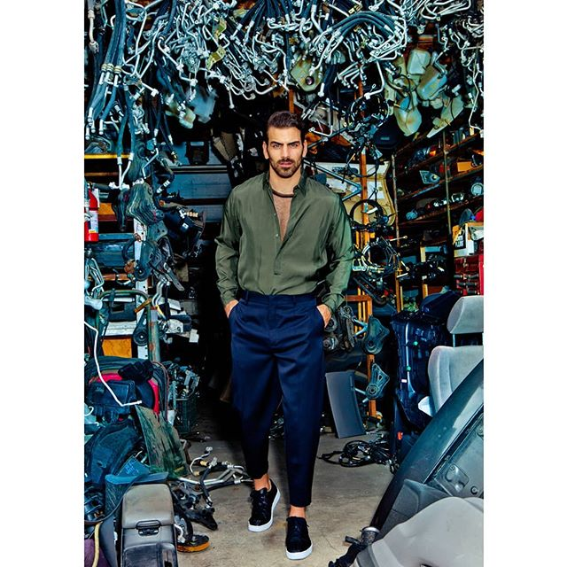 Beauty in the chaos. @nyledimarco for @manofmetropolis styled by @mrmontyjackson photo @stephenbusken  grooming @groomedbymichelleharvey