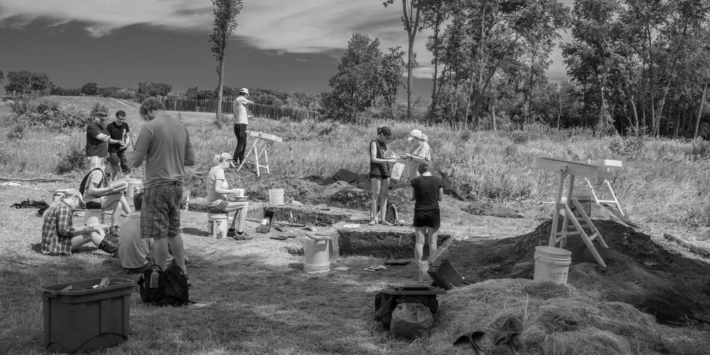 June, 2017 Excavation, with Sissel Schroeder and Team, UW-Madison