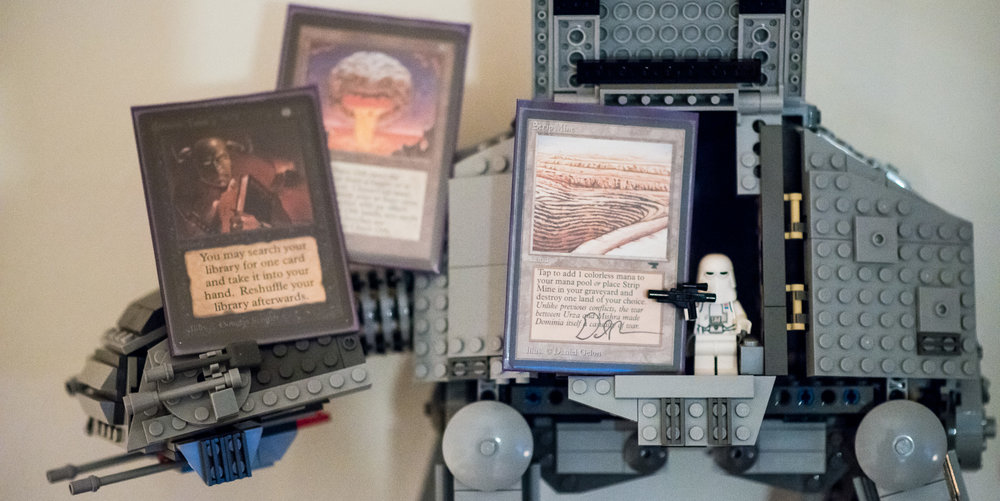 The only three cards that most decks play that can destroy that nasty rebel base with the golden domes.