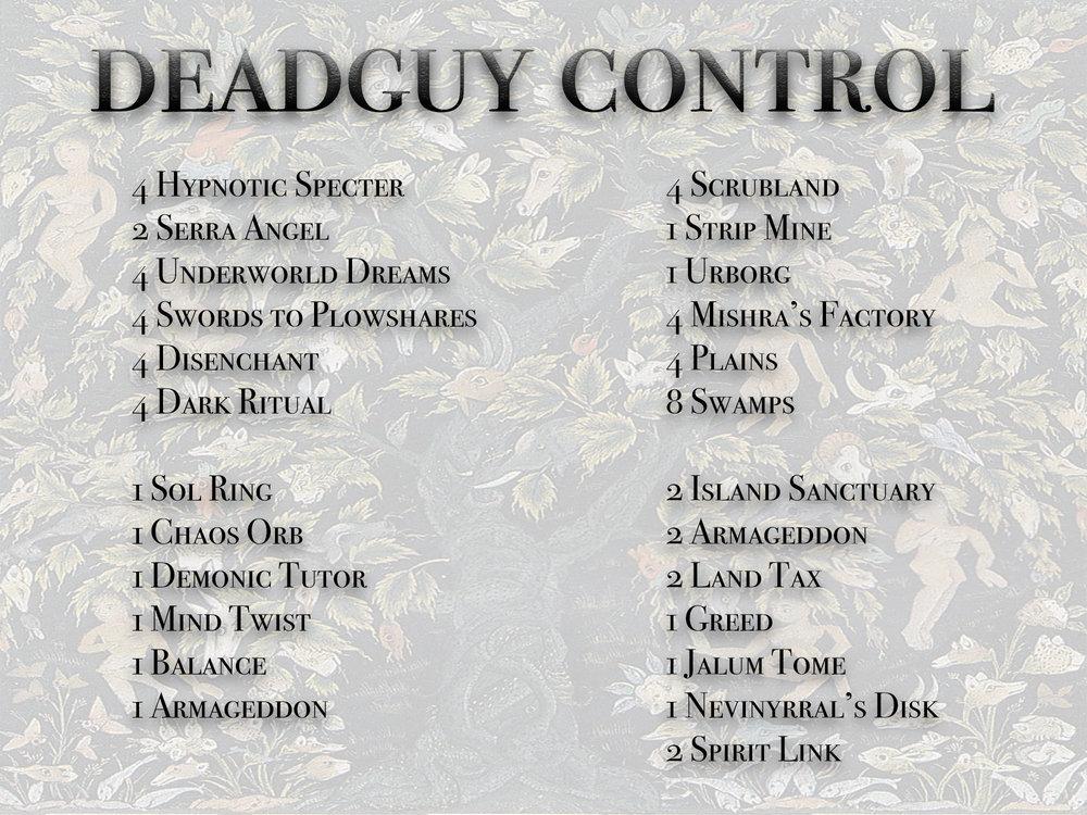9 - Emil Magnusson - Deadguy Control