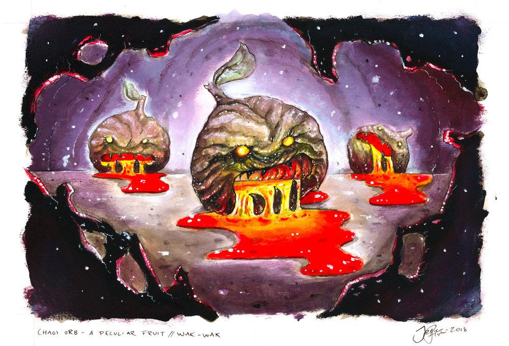 An original art by Jesper Holm