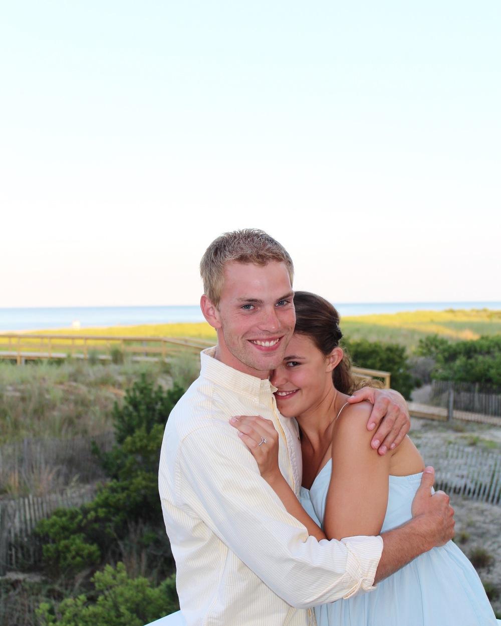 Tommy, my fiancé!