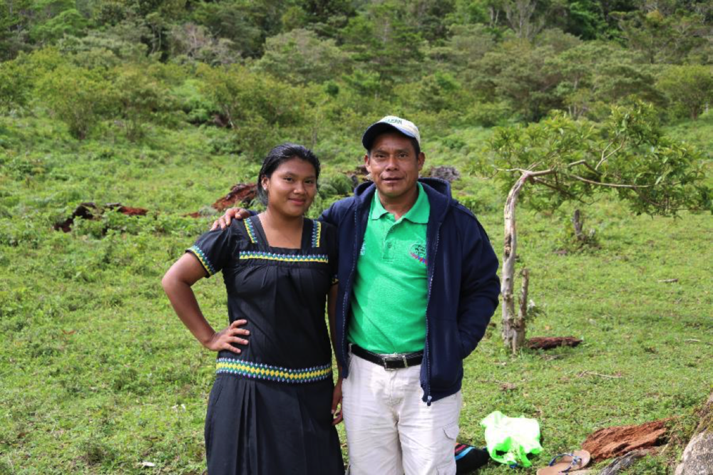 Ramon and Denia, his oldest daughter.