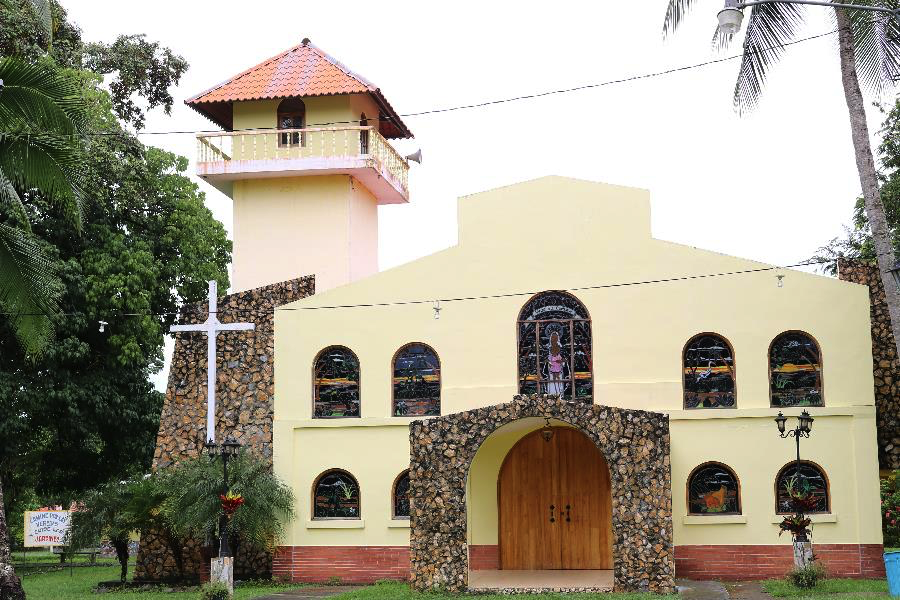 A local church, Las Lajas.