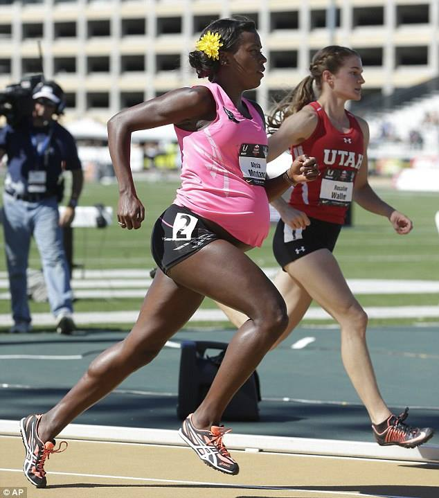 Five-time US 800m champion   Alysia Montaño ; Photo From: theguardian.com