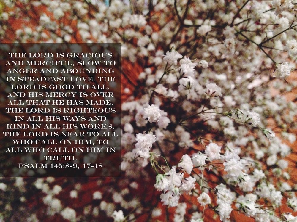 Psalm 145 via nadinewouldsay