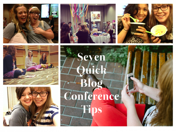 tips for blog conferences