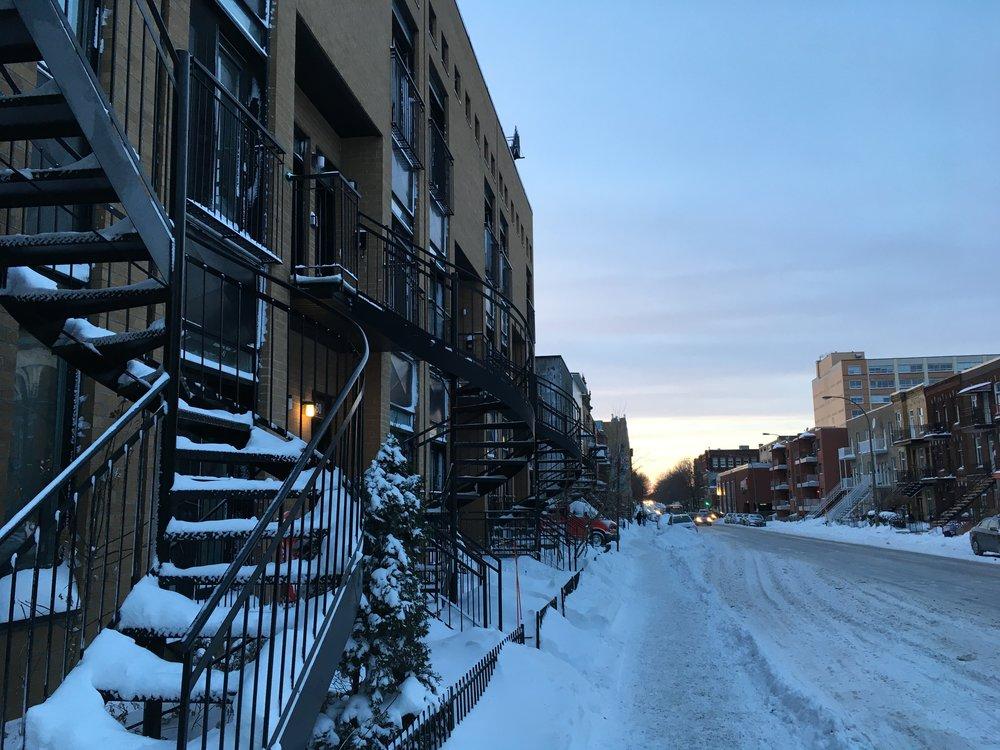nadinewouldsay montreal snow
