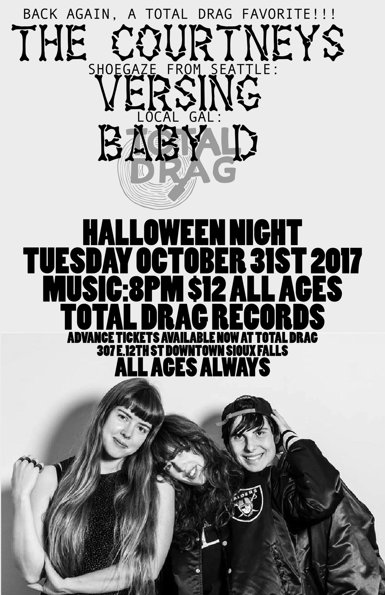 the courtneys return on halloween! — total drag