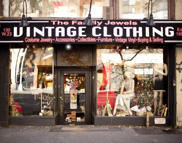 Awesome, but extremely expensive vintage store in nyc.