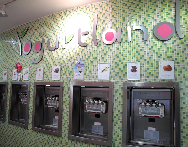 I'm in love with Yogurtland.