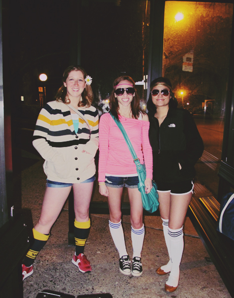 We pulled up our tube socks and adjusted our headbands and headed to Roller Disco Night in Manhattan.