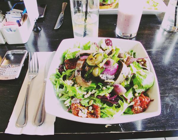 Grain & Vegetable Salad at Marathon.