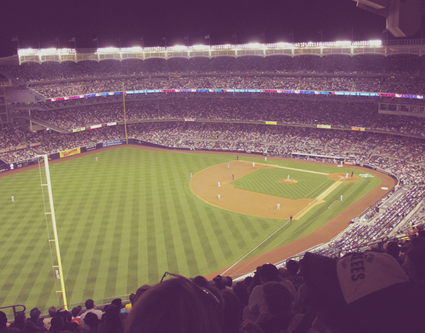 Hit up my first Yankees game this week. I actually liked it.