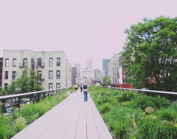 Love the new extension of the Highline.