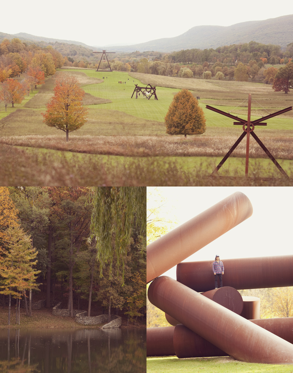 Tony and I visited Storm King this past weekend and enjoyed the fall in upstate NY.