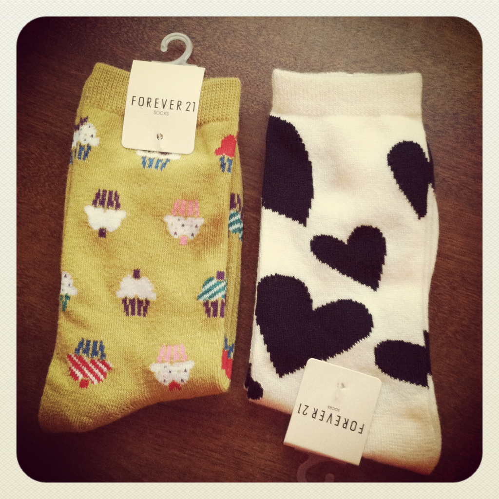 Christmas shopping just means I buy two things for myself for every gift I buy! New socks!