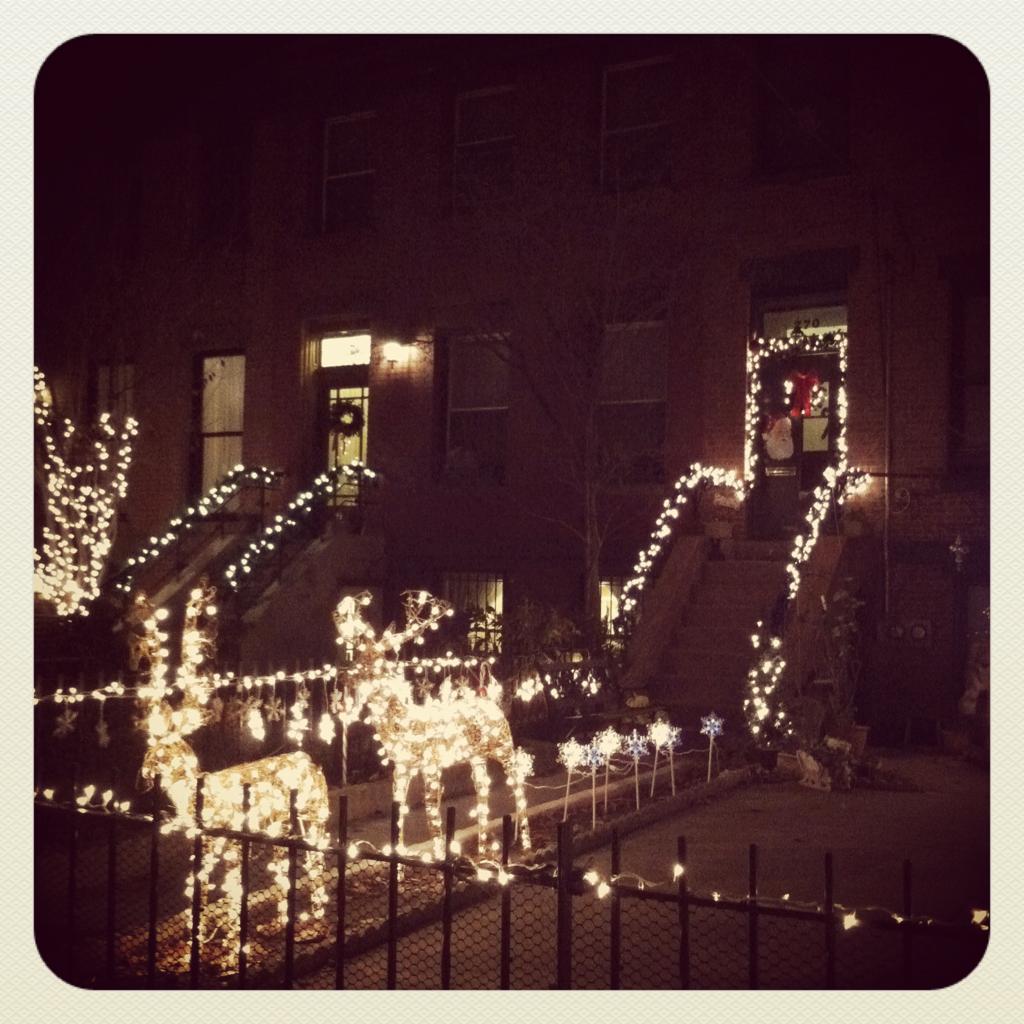 Jersey city is looking festive!