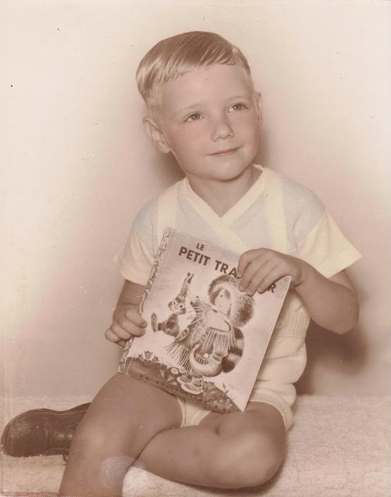 My dad, 1953