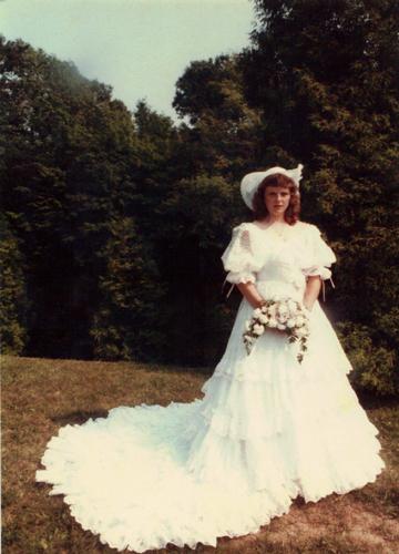 My mom, 1983