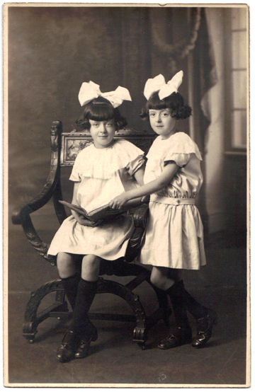 Found a lot of cool old family photos while home for the holidays. Grandma & her sister 1927