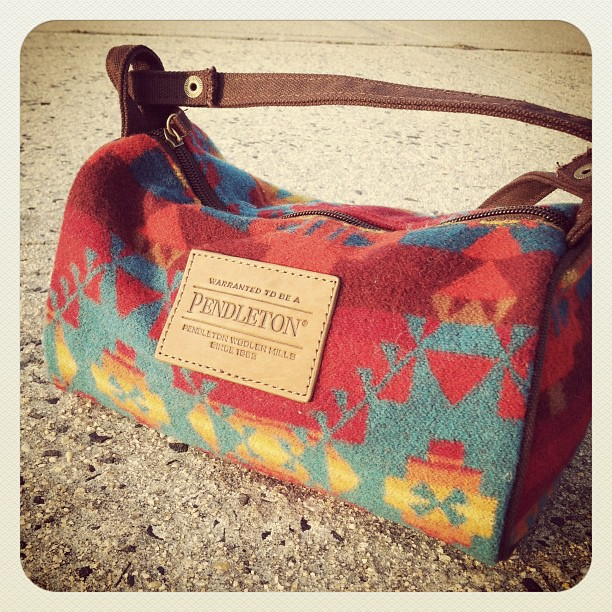 New Pendleton bag!