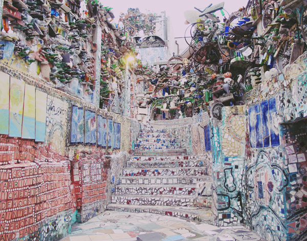 The Magic gardens in Philly