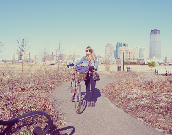 Spent the afternoon bike riding around Jersey city and Liberty state park.
