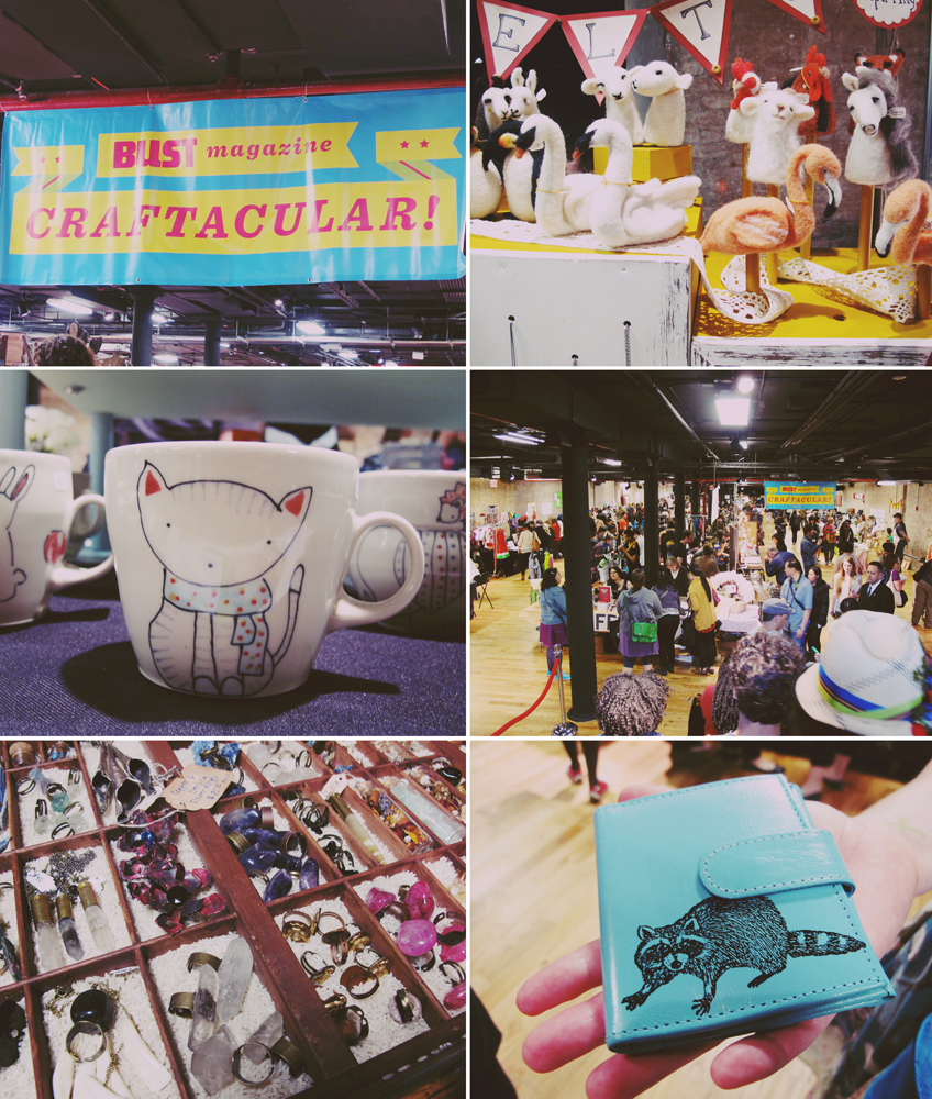 Went to the Bust Craftacular yesterday afternoon and saw lots of cute girly things!