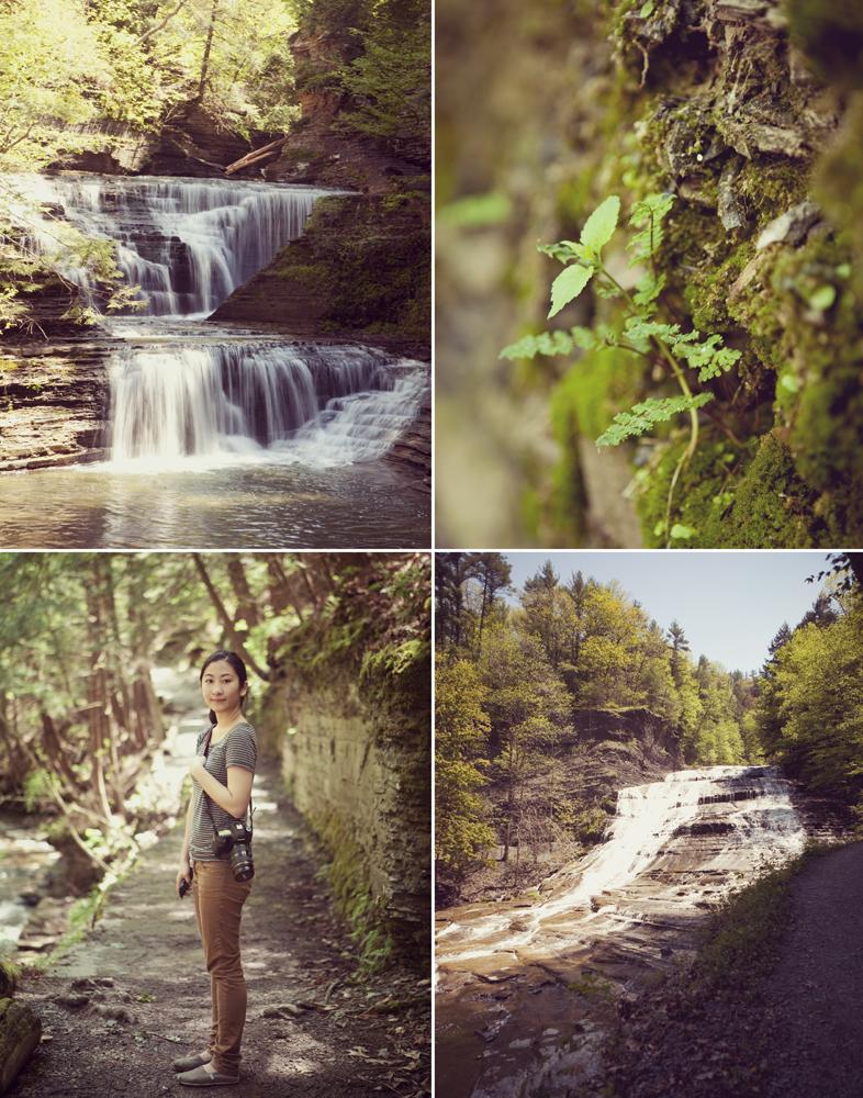 Buttermilk Falls, Ithaca NY.