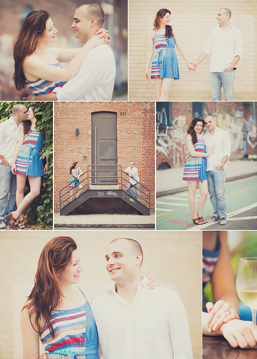 Yesterday I photographed Max & Alla around Williamsburg!