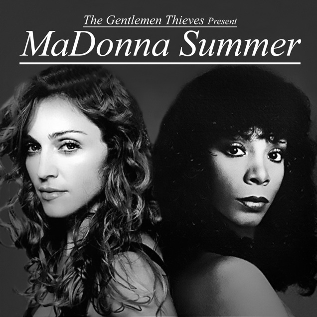 So they played this on set today and everyone was in love with it.    http://www.shyboymashups.com/madonna_summer.html