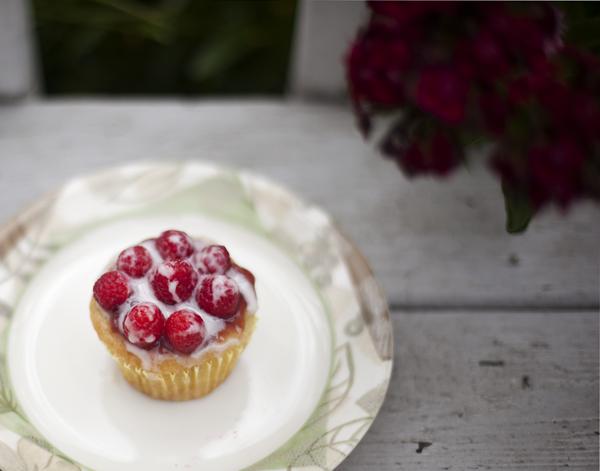 Vegan Raspberry Cupcakes!