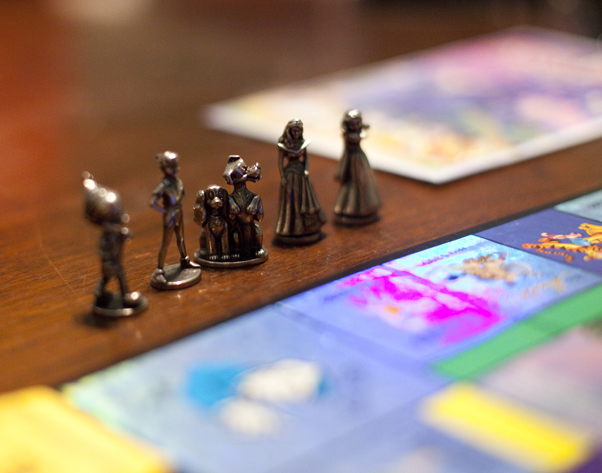 Ended up having a monopoly night this weekend since everyone was too tired from the work week to party.