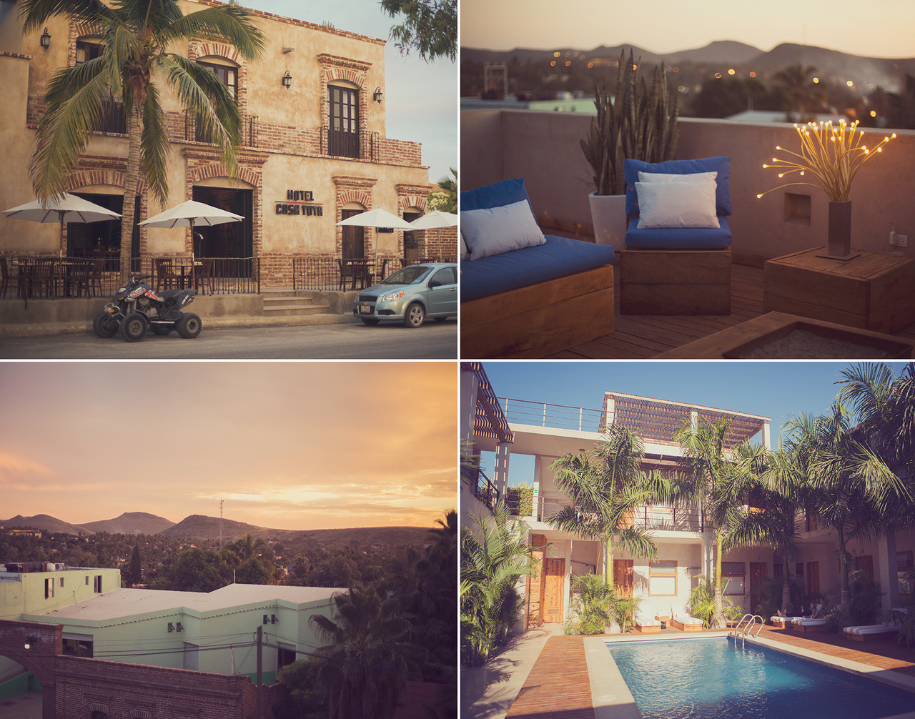 Casa Tota The prettiest, nicest, and best place to stay in Todos Santos Mexico