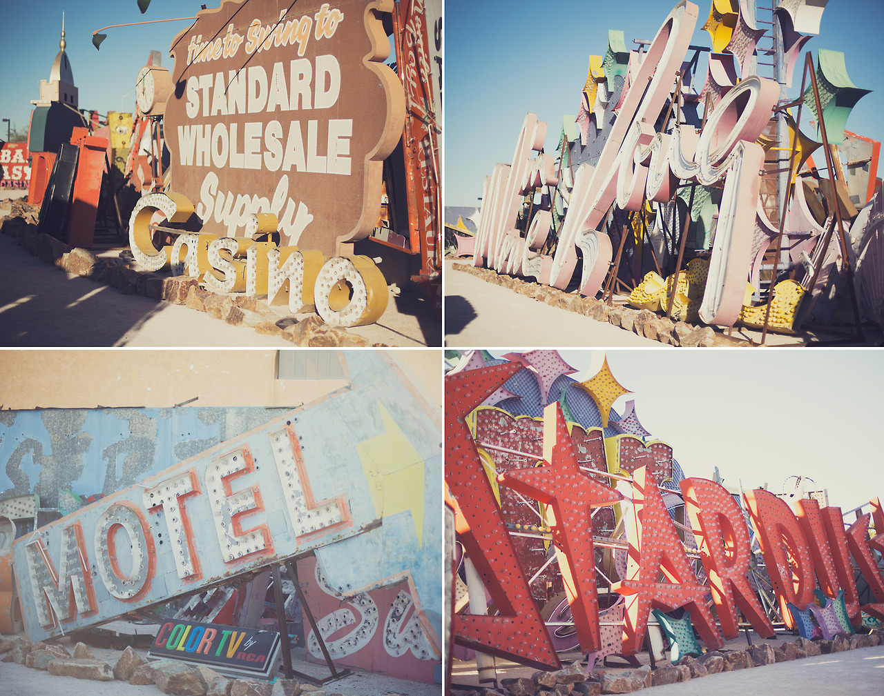 The Neon Museum, Las Vegas A non-profit museum that collects and sometimes restores vintage neon signs.