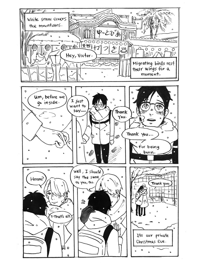Yuri On Ice fancomic - pg 4