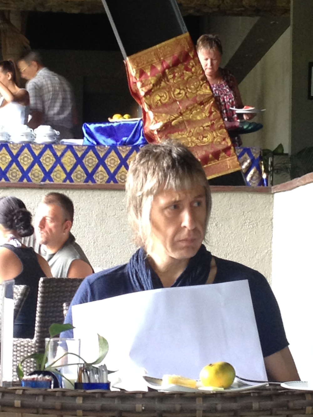 Nigel Tufnel sighting in Sanur, Bali.