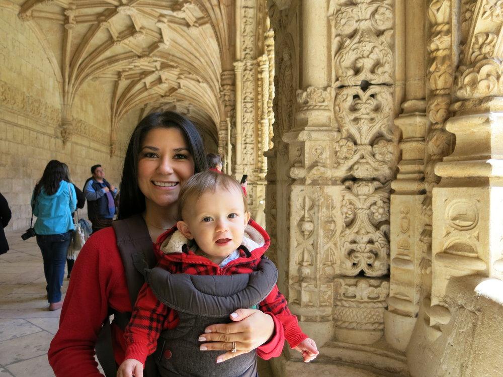 Exploring the historic Belem area of Lisbon