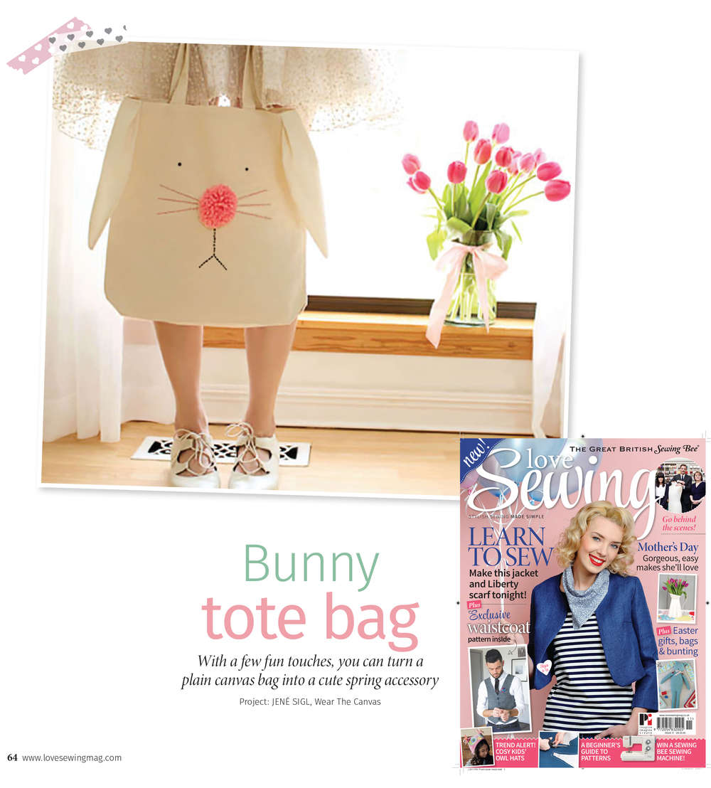 Love Sewing Magazine Issue 11 - Feb 2015