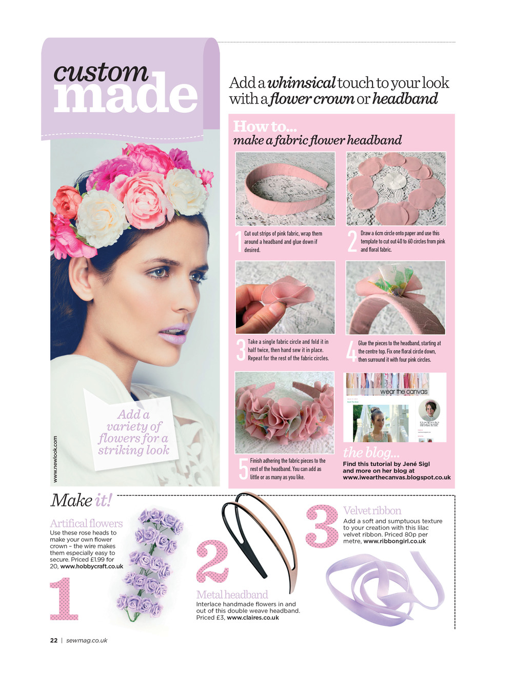 Sew Magazine - May 2014