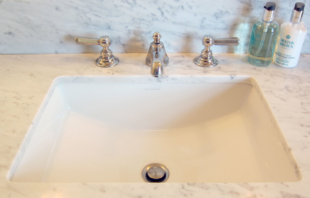 Waterworks - Astoria Faucet and Universal sink