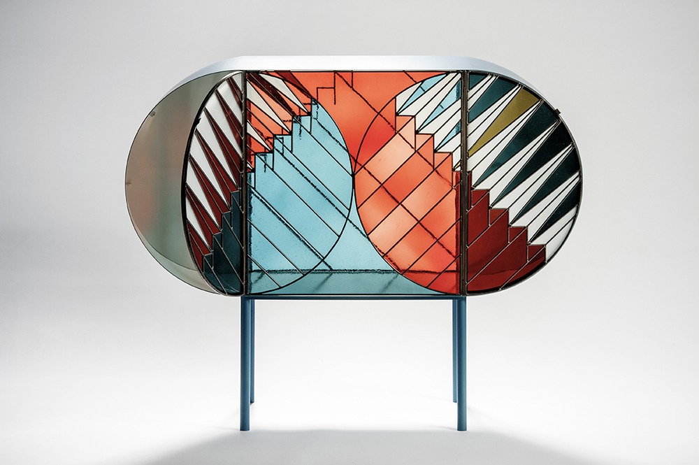 Credenza by Patricia Urquiola and Federico Pepe for Spazio Pontaccio / photo Port Magazine