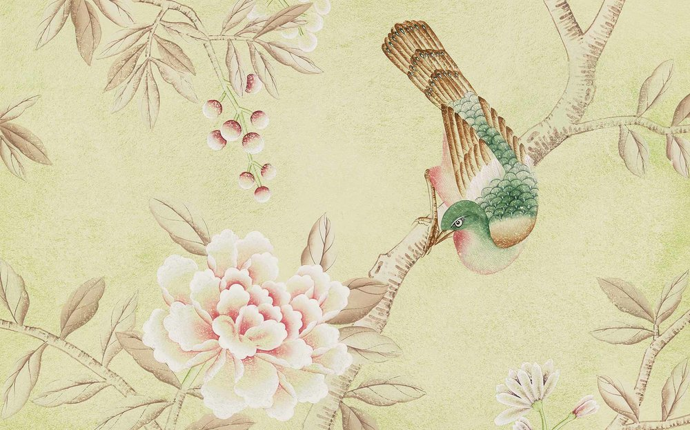 Fromental Floribunda Chinoiserie in Haynes Wallpaper